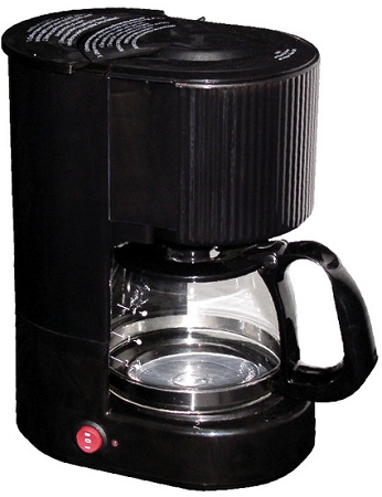 4 Cup Coffee Maker Auto Shut Off : Hotel Motel 4-CUP COFFEE MAKER, 1 hour auto shut-off, pause and serve, flavor seal lid to ...