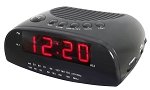 Hotel/Motel Alarm Clock Radio, single alarm, 0.9