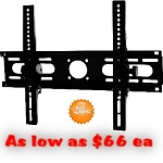 HEAVY DUTY Hotel TILT WALL MOUNT (For Flat Screen TV). Fits Size 23-42