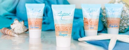 Aqua Organics Hotel Lotion, 1 Oz. Tube with Twist Cap, Pure Aloe and Organic Olive Oil, (Case of 300) starting at $53.17 cs