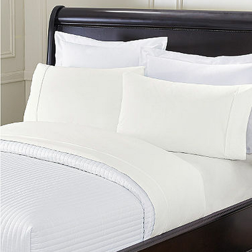 HSD PREMIUM/OXFORD 180 Thread count, No-iron, Hotel-Motel KING PILLOW CASES, 42x46
