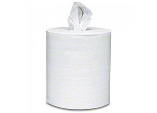 Atlas Paper Mills Center Pull Roll Towels, White, 2-Ply, Case of 6