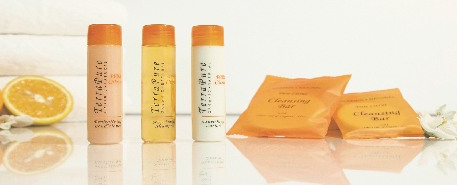 Terra Pure Organic and Natural Collection - Fresh orange and warm ginger fragrance, enriched with Organic Olive oil, aloe vera, and pure honey.