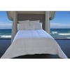 Hotel White Down Alternative Comforter with Embossed Microfiber Shell, Medium Fill, TWIN (low as $29.40)