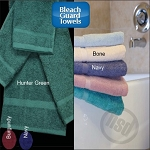 Oxford Bleach Proof, 100% Ring Spun Cotton, Dobby Hand Towels 16x26