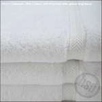 Hotel Gold, RingSpun Bath Towels, White 24