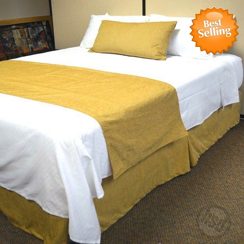 Hotel Jacquard Chenille Bed Runners Scarfs 100 Micro