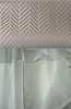 Best Western Approved CHEVRON EZY HANG W/WINDOW Polyester Shower Curtain, 72x74