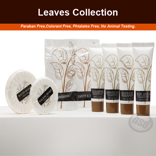 LEAVES Collection, Hotel Sewing Kit, (plastic case)
