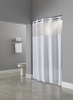 Madison (Dynasty) 100% Polyester Hookless  HOTEL Shower curtain, 71