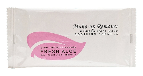 FRESH ALOE Make-up Remover Wipe/Towelette Wipes,  (Case of 500)-low as $0.125 each.
