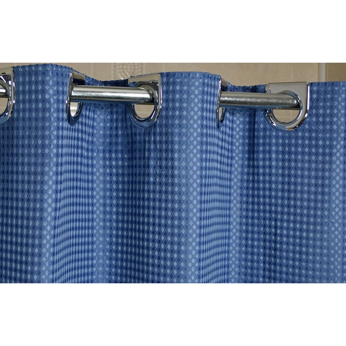 Ramsey Ezy-Hang Polyester Hotel 300 Denier Shower Curtain 72x74