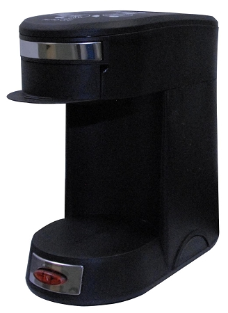 One Cup Coffee Maker For Hotels : 1-CUP POD COFFEE MAKER Brews PD Coffee, Auto Shut Off, RED POWER ON