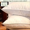 HSD-ALL SAINTS-Hotel Micro Gel Fiber Pillow, Hypo-Allergenic, Corded Edge, KING, Starting at $17.95 ea