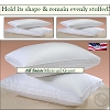 HSD-ALL SAINTS-Hotel Micro Gel Fiber Pillow, Hypo-Allergenic, GUSSET, KING, Starting at $19.95 ea