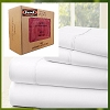 Luxurious 1800 Series: Feels like Certified 100% Premium Organic Cotton Sheet Set, Twin