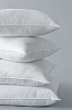 ChamberFirm Pillow by Standard Textile, Hotel FIRM Pillow with 3-Chamber Design,  two types of down-alternative fill-QUEEN Size, Price each