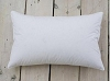 MEDIUM FILL-GOOSE FEATHER 90% and DOWN 10% SLEEPING PILLOWS, Set of  2, with Knife Edge, Standard Size (Made in USA) by Down Inc