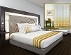 New - RuJan HORIZON-Decorative Top Sheet, Size:- Queen, 96