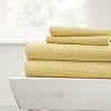 HOME HoneyComb Patterned 4-Piece Sheet Set. From ($20.99 to $28.99 Set)