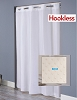 Hookless ENGLEWOOD, 100% Polyester Hotel  Shower Curtain, 71x74