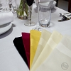 Hotel, Restaurant, Party Rentals-SATIN BAND NAPLINS, NEW 100% Spun Polyester, 20