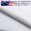 250 Tc American Made 60% Cotton/40% White Percale Elegance Hotel Casino Pillow Cases, King - 42 x 46