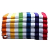ASSORTED COLORS-WHOLESALE ECONOMY MULTI-COLOR 2x2 CABANA HOTEL POOL-BEACH Towels, 30