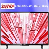 SANYO Refurbished FW40D36FB 1080p 120Hz Class LED HDTV 40