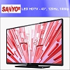 SANYO Refurbished FW43D25FB 1080p 120Hz Class LED HDTV 43