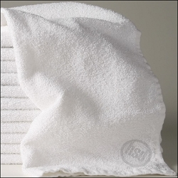 Economy HOTEL / MOTEL  Wash Cloths-100% Cotton 12 x 12