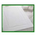 Hotel Economy Bath Mats, Economical, 100% Cotton, 20 x 30