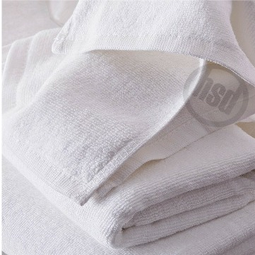 Solid White HOTEL Pool Towel, 10's 100% All Cotton, 36x68