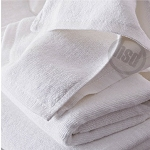 Solid White Pool Towel, 10's 100% All Cotton, 36x68