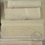 PREMIUM Collection 100% RING SPUN Cotton, BEIGE Bath Towel, 24x48