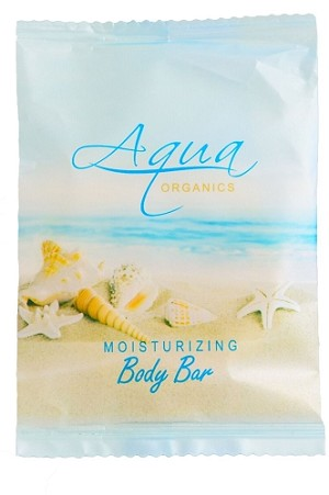 Aqua Organics Hotel Body Bar Soap, 1.5 Oz., Pure Aloe and Organic Olive Oil, (Case of 500) Low as $ 54.39 Cs./$0.11 each)
