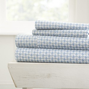 HOME Houndstooth Patterned 4-Piece Sheet Set. From ($20.99 to $28.99 Set)