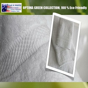 "American Made: Optima Towel Collection: 100% Eco-Friendly Pre-Consumer Regenerated Cotton, Luxury Long Staple Sumptuous: Hand Towels, 16x30"" 5.0 lb, White (low as $2.30 ea)"