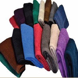 GOLF TOWELS, 100% Ring Spun Cotton -16x27