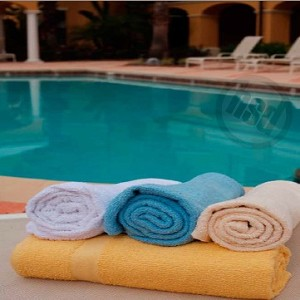 Solid Colors Pool Towel, 100% Ring Spun Cotton, 36x68