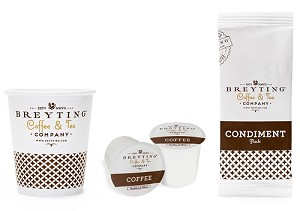 200 Count - BREYTING - K-CUP Single Serve Roasted, REGULAR (Low as $66.45 cs)