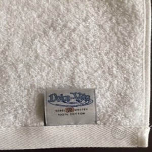 "Closeout-Discontinued Items - Hotel-Motel - WASH CLOTHS, White, 13"" x 13"", 1.75 lbs/dz"