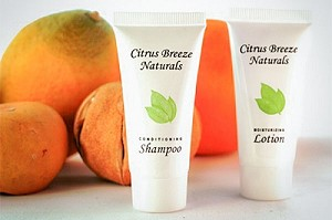 CITRUS BREEZE Naturals Lotion, .85 oz. Hospitality/Travel Size Tube, Enriched with Organic Aloe (Case of 300) Low as $ 45.56 Cs./$0.151 each)