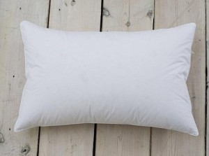 MEDIUM FILL-GOOSE FEATHER 90% and DOWN 10% SLEEPING PILLOWS, Set of  2, with Knife Edge, Queen Size $34.97 ea (Made in USA)