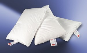 Non Flattening, Fossfill 2 Hospitality Pillow Soft Fill, 180 TC, JUMBO 26 oz fill. SET OF 2 PILLOWS