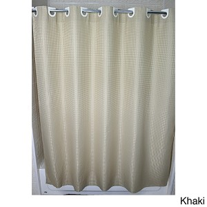 "Ramsey Ezy-Hang Polyester Hotel 300 Denier Shower Curtain 72x74"", Color KHAKI, Price Each (Starting at $19.25ea)"