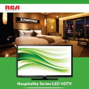"J43LV840: 43"" RCA LED Commercial Grade HOTEL HDTV With Pro:idiom (Low as $465.50) .1 FREE WITH 10"