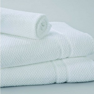 "PIQUE WEAVE® Luxury Hotel/Resort/Casino Terry Towels by Standard Textile, BATH/TUB MAT 22""x 34"", EACH"
